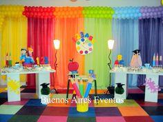 Daycare Room Design, Kids Room Design, Art Party Decorations, Class Decoration, Pre K Graduation, Kindergarten Graduation, Graduation Ideas, Abc Wall, Abc Party