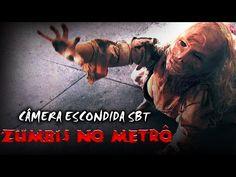 Zumbis No Metrô - Câmera Escondida SBT [Subway Zombie Prank] - http://positivelifemagazine.com/zumbis-no-metro-camera-escondida-sbt-subway-zombie-prank/
