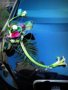 Ma toute première décoration de voiture pour mariage =)
