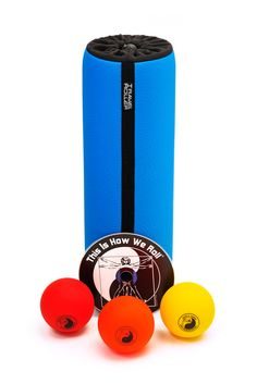 Travel Roller Acu Pressure Kit - Love the new Blue color! www.travelroller.com