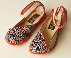 Francisco Miranda (tooco), Hand illustrated shoes for Doble Sentido shop