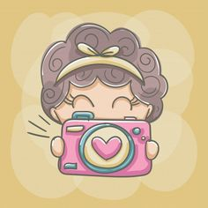 Cute Cartoon Drawings, Art Drawings For Kids, Drawing For Kids, Eid Stickers, Barbie Paper Dolls, Cute Coloring Pages, Princess Drawings, Cute Images, Cute Art