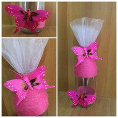 Bottiglietta Shabby Chic rosa