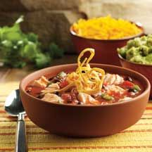 Tyson Grilled and Ready Chicken Tortilla Soup~WW Points 8