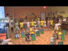 Rozloučení s předškoláky - 20.6.2013 - MŠ Vratimov - YouTube