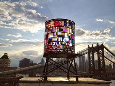 "Tom Fruin, ""Watertower"""
