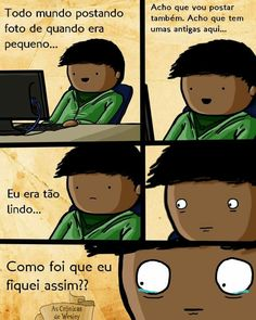 Também não sei como fiquei como estou hoje! Kpop Memes, Funny Memes, Jokes, Freaking Hilarious, Funny Comics, Funny Posts, Comic Strips, Funny Pictures, Geek Stuff