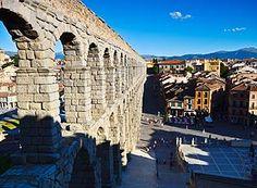 Aqueduto romano de Segóvia, Castela-León