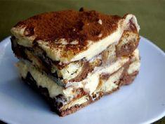 Tiramisu- Buddy Valastro's (The Cake Boss) recipe for this fabulous, rich, creamy, delicious, Italian dessert. - hands down my favorite dessert so I'll have to try this one Italian Desserts, Just Desserts, Dessert Recipes, Italian Tiramisu, Bolos Cake Boss, Cake Boss Recipes, Kolaci I Torte, Tiramisu Recipe, Tiramisu Cake