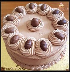 Torta Cremosa Mascarpone e Nutell