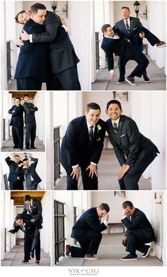 Funny groomsmen pictures- Jeff and Matt are going to have so much fun with this.