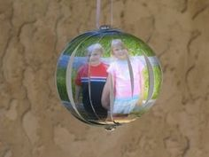 Christmas Photo Ornament I did this with Brooklyn's photo last year and got TONS of compliments!