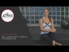 Pilates Renee 2, Abs, Core Arms, Cardio, Powerhouse , 30 Mins - YouTube