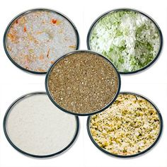 Chef Cherie's Sea Salt Sampler Gift Set - Contains 5 2 oz. Tins - http://spicegrinder.biz/chef-cheries-sea-salt-sampler-gift-set-contains-5-2-oz-tins/