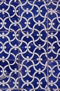 (Detail of Islamic Tiles)  This kind of color scheme would be really pretty with copper fixtures. The idea goes back to what we had originally liked about Monet's kitchen. I know this is a slightly different direction but could be nice?