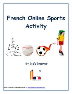 $ Have your students practice and expand their sports vocabulary on the authentic French website