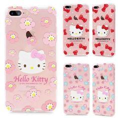 Hello Kitty iPhone7 PLUS ケース iPhone7カバー キティ ソフトクリアケース ポップ キュート 薄型 可愛いアイフォン7シリーズ携帯ケース