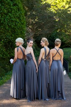 Multiway Bridesmaid Dresses, the perfect solution for ladies with different body types.