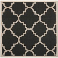 Safavieh's Courtyard collection is inspired by timeless designs crafted with the softest polyproplene available.
