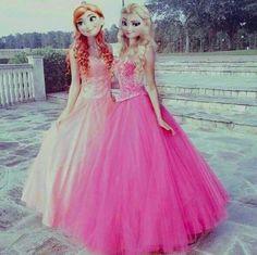 Anna & Elsa modern