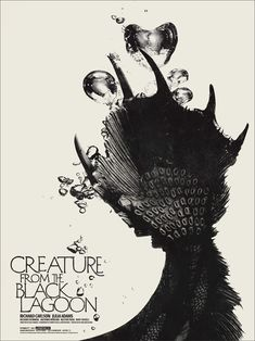 The Creature from the Black Lagoon by Jay Shaw