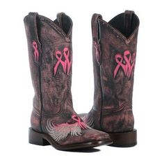 2013 Wings of an Angel Boots ❤ liked on Polyvore featuring shoes, boots, wing shoes, real leather shoes, real leather cowgirl boots, cowboy boots and western style boots #cowgirlboots