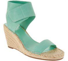 113264f0d9e Vince Camuto Leather Ankle Strap Espadrilles - Levista - A306355 Vince  Camuto Shoes