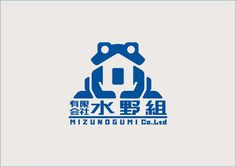logo 日本語 蛙 家