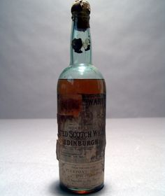 JP Morgan's Personal Whiskey. Like the battered look, could store in cellar?