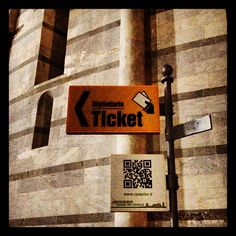 QR Codes @ Piazza del Duomo, #Pisa