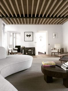 Living Room | MK House by Nicolas Schuybroek | est living