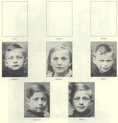 Henri Greenberg (boy on bottom right) age 11 and his siblings Monique age 10 (top center) Raymond age 9 (bottom left) Albert age 7 (top right) and Salomon age 5 (top left) gassed in Auschwitz on Apr. The Lost World, World War Two, Innocent Child, Losing A Child, 10 Top, 9 Year Olds, Historical Photos, Wwii