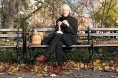 """The motion of knitting isn't all that different from the motion of plugging away at your smartphone all day. Except knitting promotes focus, and the phone promotes distraction."" (Barbara Schnoor in Humans of New York)"