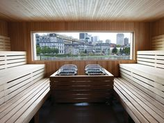 shipping container sauna options