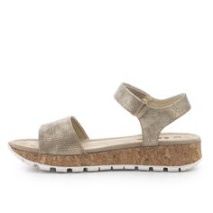 Sandalia plana corcho IXOO Outlet, Cork, Espadrilles, Wedges, Shoes, Fashion, Flat Sandals, Vacations, Winter
