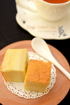 Magic Custard Cake.......the magical cake with 3 layers in 1 bake.