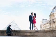 Carly and Mark celebrated their engagement in Paris !  #parisphotographer #parisengagement #eiffeltower