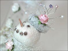 Making Holiday Snowmen!