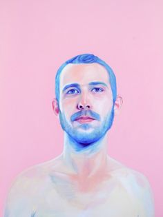 pastel colors for watercolor (bright blue and pink)