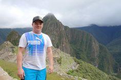"""Kuvaajakin """"joutui"""" kuvattavaksi, Machu Picchu."""