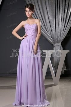 Amazing Lavender Dresses For Wedding