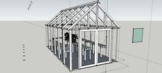 NANEPASHEMET: 12 x 24 Panelized Greenhouse