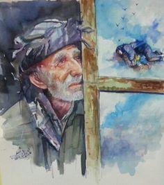 Kurdish art by Adel Askar إلى متى لوحة عن المعاناه الكردية بريشة الفنان عادل اصغر