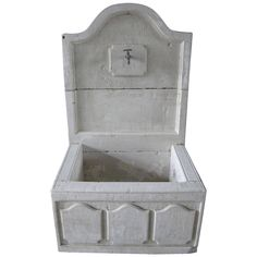 French Louis XIV Style Fountain Handcrafted Limestone, Provence, France | From a unique collection of antique and modern fountains at https://www.1stdibs.com/furniture/building-garden/fountains/