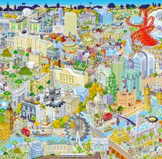 Illustrated London from Above