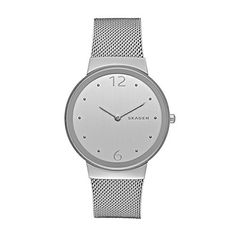 Women  Watches - Skagen Womens SKW2380 Freja Stainless Steel Mesh Watch >>> Check this awesome product by going to the link at the image. (This is an Amazon affiliate link)