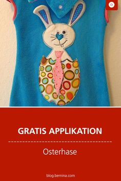 A vest for Easter Ems, Easter, Embroidery, Blog, Sewing Appliques, Templates Free, Baby Sewing, Sew Mama Sew, Easter Bunny