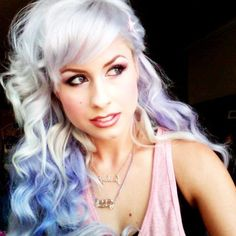 Love this shade of purple...not sure if I'm into maintaining platinum again though!