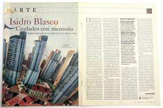 ABC Cultural Sobre montaje exposición de fündc para Isidro Blasco en Alcalá 3126.3.2010 Cover, Books, Cities, Art, Libros, Book, Book Illustrations, Libri