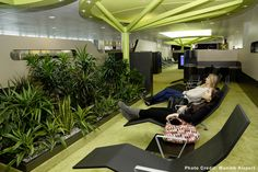 Who never wished they could catch some Zzzz or relax a bit between two long flights? Let's have a look at some of the places where you can rest and freshen up in airports. Sheremetyevo International Airport, Study Cafe, Singapore Changi Airport, Have A Shower, Waiting Area, Meditation Space, Lounge Areas, Swimming Pools, Relax